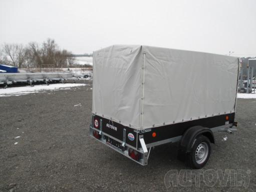 Přívěs za osobní auto s plachtou ZV 26 750kg N1 2,50x1,30/1,33 č.10