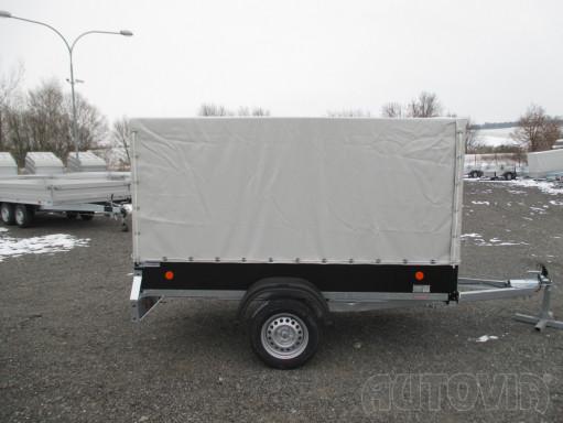 Přívěs za osobní auto s plachtou ZV 26 750kg N1 2,50x1,30/1,33 č.11