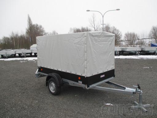Přívěs za osobní auto s plachtou ZV 26 750kg N1 2,50x1,30/1,33 č.12