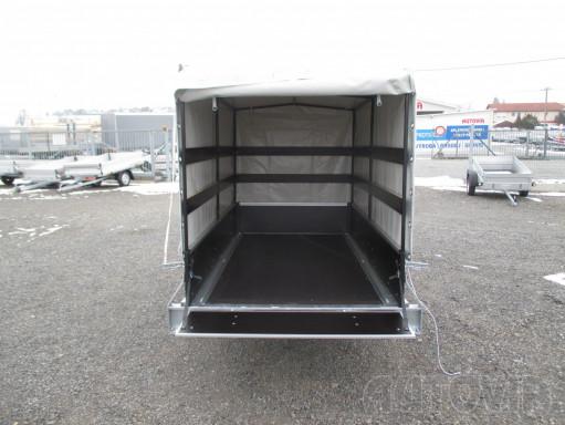 Přívěs za osobní auto s plachtou ZV 26 750kg N1 2,50x1,30/1,33 č.3