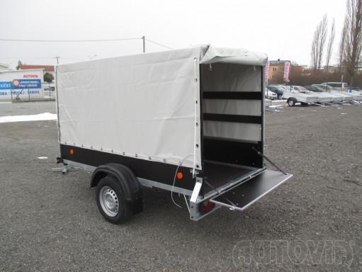 Přívěs za osobní auto s plachtou ZV 26 750kg N1 2,50x1,30/1,33 č.2