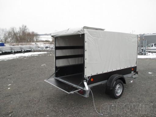 Přívěs za osobní auto s plachtou ZV 26 750kg N1 2,50x1,30/1,33 č.4