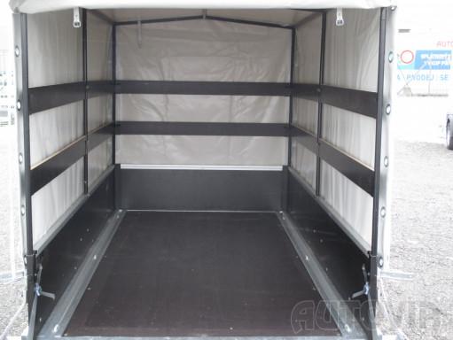 Přívěs za osobní auto s plachtou ZV 26 750kg N1 2,50x1,30/1,33 č.5