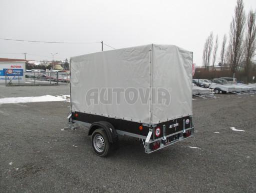 Přívěs za osobní auto ZV 26 750kg N1 2,50x1,30/1,57 POČ č.6