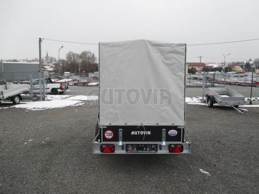 Přívěs za osobní auto ZV 26 750kg N1 2,50x1,30/1,57 POČ č.7