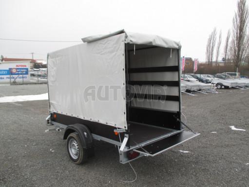 Přívěs za osobní auto ZV 26 750kg N1 2,50x1,30/1,57 POČ č.2