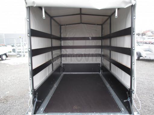 Přívěs za osobní auto ZV 26 750kg N1 2,50x1,30/1,57 POČ č.3