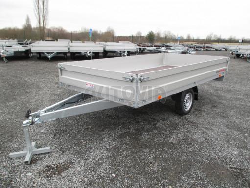 Nebrzděný přívěsný vozík ZV 32/35 750kg N1 3,50x1,80/0,35ZN** č.1