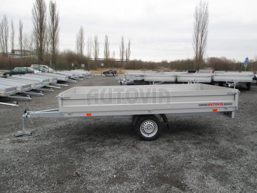 Nebrzděný přívěsný vozík ZV 32/35 750kg N1 3,50x1,80/0,35ZN** č.4