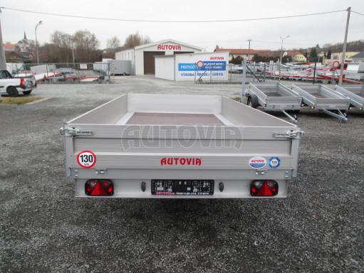 Nebrzděný přívěsný vozík ZV 32/35 750kg N1 3,50x1,80/0,35ZN** č.6