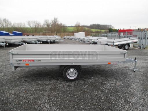 Nebrzděný přívěsný vozík ZV 32/35 750kg N1 3,50x1,80/0,35ZN** č.8