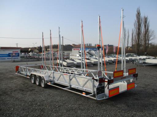 POOL - Transporter přepravník bazénů BA 3,5T B3 8,70x1,74* č.1