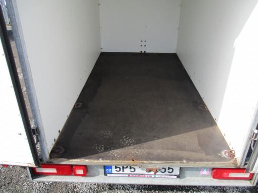 Bazarový skříňový přívěs ZV 26 1,3T B1 2,50x1,26/1,50* č.17