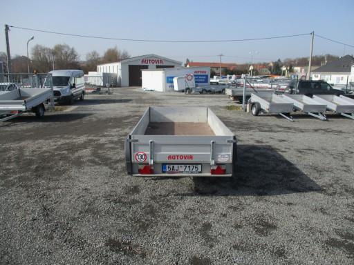 Bazarový přívěs ZV 30 ALU 2,7T B2 3,00x1,31/0,35 POČ č.7
