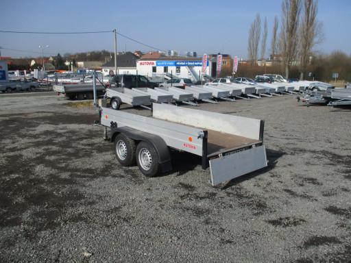 Bazarový přívěs ZV 30 ALU 2,7T B2 3,00x1,31/0,35 POČ č.13