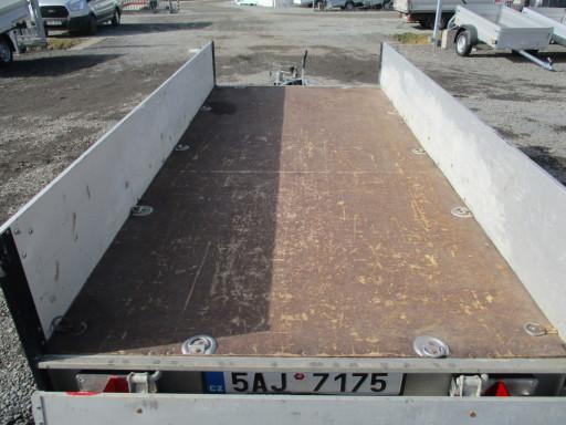 Bazarový přívěs ZV 30 ALU 2,7T B2 3,00x1,31/0,35 POČ č.16