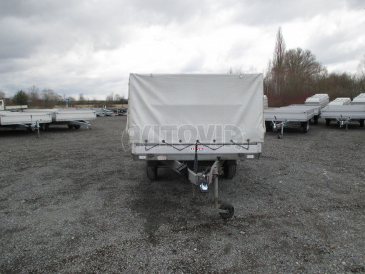 Bazarový přívěs za osobní auto s plachtou ZV 32 1,3T B1 3,00x1,80/1,05 č.8