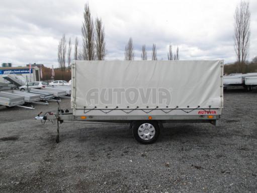 Bazarový přívěs za osobní auto s plachtou ZV 32 1,3T B1 3,00x1,80/1,05 č.4