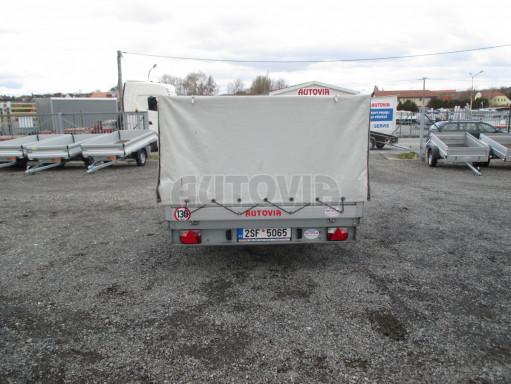 Bazarový přívěs za osobní auto s plachtou ZV 32 1,3T B1 3,00x1,80/1,05 č.6