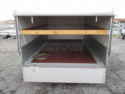 Bazarový přívěs za osobní auto s plachtou ZV 32 1,3T B1 3,00x1,80/1,05 č.7