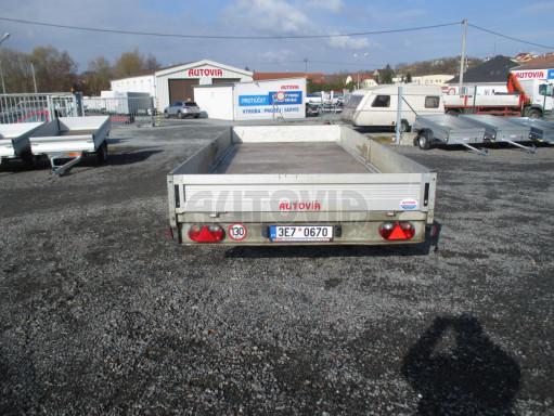 Bazarový přívěsný vozík v provedení valník VER 2,7T 5,03x2,06/0,30 č.6