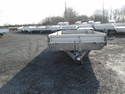 Bazarový přívěsný vozík v provedení valník VER 2,7T 5,03x2,06/0,30 č.8