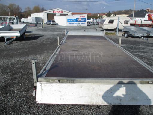 Bazarový přívěsný vozík v provedení valník VER 2,7T 5,03x2,06/0,30 č.9