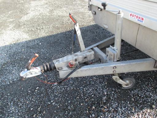Bazarový přívěsný vozík v provedení valník VER 2,7T 5,03x2,06/0,30 č.10