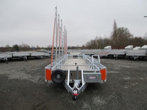 POOL - kapotovaný přepravník bazénů + zastřešení BA 3,5T B3 10,30x1,74* č.2