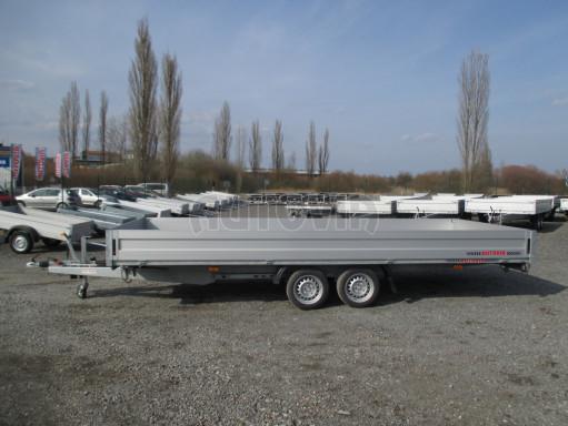 Hydraulicky sklopný přívěs pro přepravu aut AD 5 2,7T 5,17x2,09 valník** bazar č.5