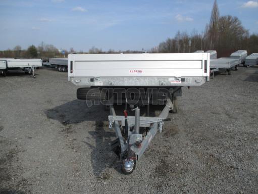 Hydraulicky sklopný přívěs pro přepravu aut AD 5 2,7T 5,17x2,09 valník** bazar č.15