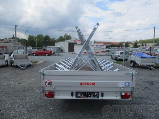Cyklo 22 nákladní přívěs ZV 41 750kg N1 4,17x2,00/0,35 zes náprava** č.7