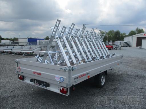 Cyklo 22 nákladní přívěs ZV 41 750kg N1 4,17x2,00/0,35 zes náprava** č.4