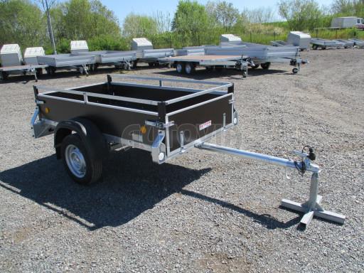 Nebrzděný nákladní přívěs ZV 21 N1 2,06x1,10/0,35 RE POČ M-profil č.8