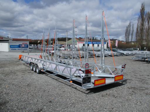 POOL - Transporter přepravník bazénů BA 3,5T B3 9,70x1,74* č.9