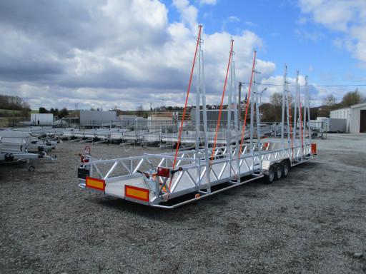 POOL - Transporter přepravník bazénů BA 3,5T B3 9,70x1,74* č.10