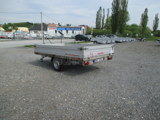 Bazarový přívěs za osobní automobil ZV 32 1,3T B1 3,00x1,80/0,35 č.4