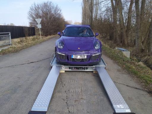 Přívěs pro přepravu sportovních aut  KAR 47 3,0T 4,70 x 2,015 č.4