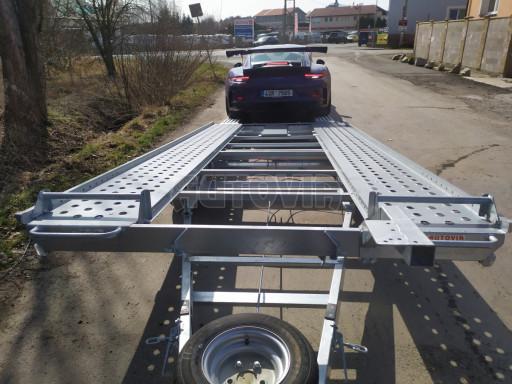 Přívěs pro přepravu sportovních aut  KAR 47 3,0T 4,70 x 2,015 č.5