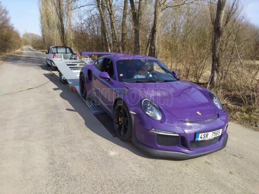 Přívěs pro přepravu sportovních aut  KAR 47 3,0T 4,70 x 2,015 č.6