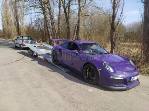 Přívěs pro přepravu sportovních aut  KAR 47 3,0T 4,70 x 2,015 č.7