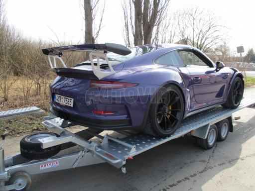 Přívěs pro přepravu sportovních aut  KAR 47 3,0T 4,70 x 2,015 č.13