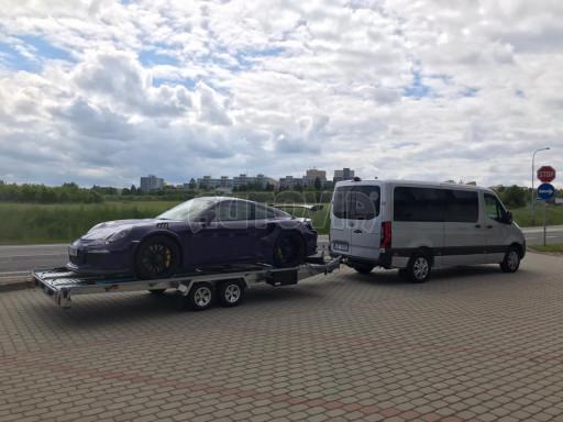 Přívěs pro přepravu sportovních aut  KAR 47 3,0T 4,70 x 2,015 č.16