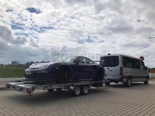 Přívěs pro přepravu sportovních aut  KAR 47 3,0T 4,70 x 2,015 č.17