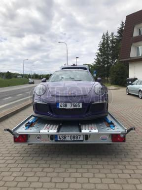 Přívěs pro přepravu sportovních aut  KAR 47 3,0T 4,70 x 2,015 č.19