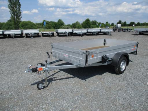 Přívěsný vozík za os. auto ZV 31 ALU 1,3T B1 3,00x1,55/0,35 POČ* č.1