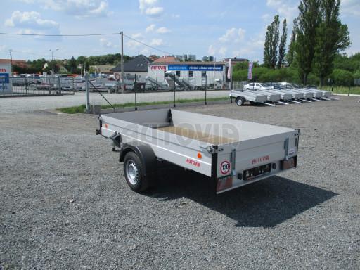 Přívěsný vozík za os. auto ZV 31 ALU 1,3T B1 3,00x1,55/0,35 POČ* č.3