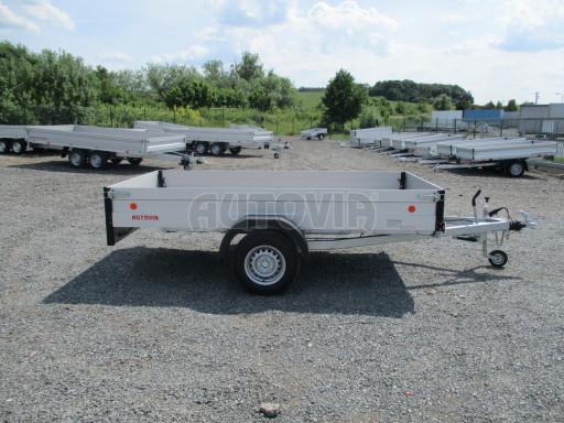 Přívěsný vozík za os. auto ZV 31 ALU 1,3T B1 3,00x1,55/0,35 POČ* č.5