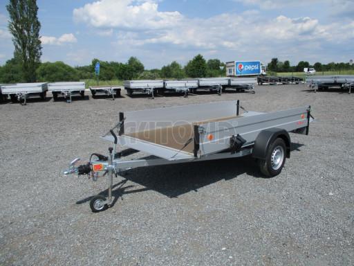 Přívěsný vozík za os. auto ZV 31 ALU 1,3T B1 3,00x1,55/0,35 POČ* č.8