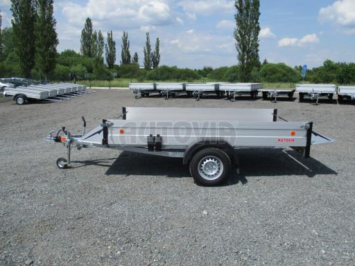 Přívěsný vozík za os. auto ZV 31 ALU 1,3T B1 3,00x1,55/0,35 POČ* č.9